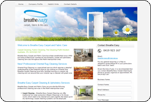 Breathe Easy Carpet Cleaning, Fabric Cleaning & Tile Cleaning